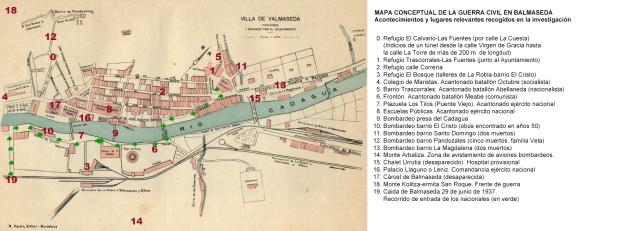 Balmaseda (Bizkaia). Plano-