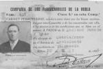 Carnet de ferroviario de Luciano Fuente